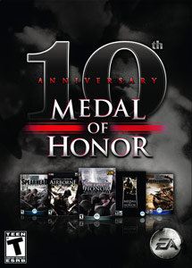 all these games feature in the Medal of Honor 10th Anniversary bundle
